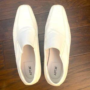 Men's White Dress Shoes